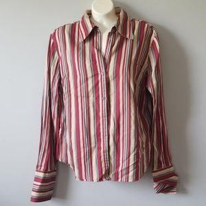 The Limited Multi-color Striped Top
